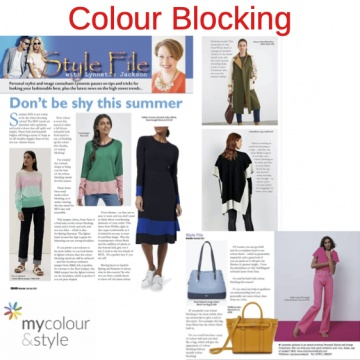 Colour Blocking, SS21, How to wear colour