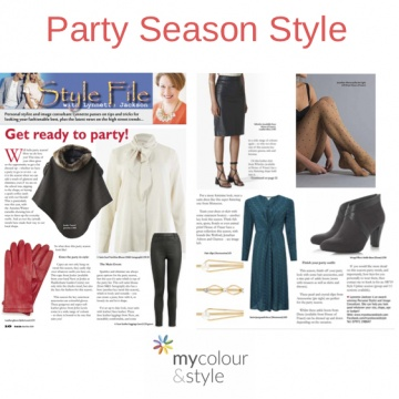 Party season style. party trends, style