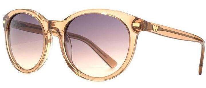 Rose gold sunglasses, elegant sunglasses