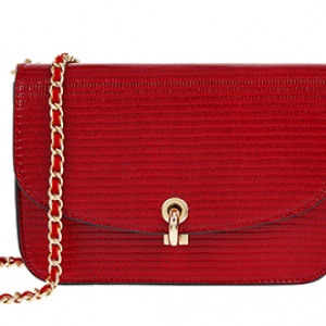 Red EDIE CROSS BODY handbag Accessorize