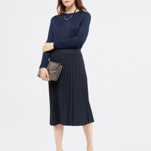 Blue Stem Shimmer Skirt, White Stuff