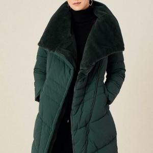 Green coat style
